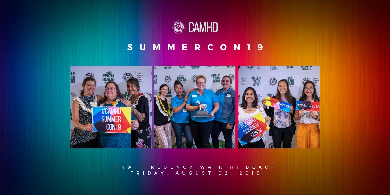 CAMHD SummerCon19 photo book cover
