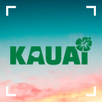 Text image of Kauai.