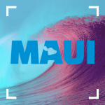 Text image of Maui.