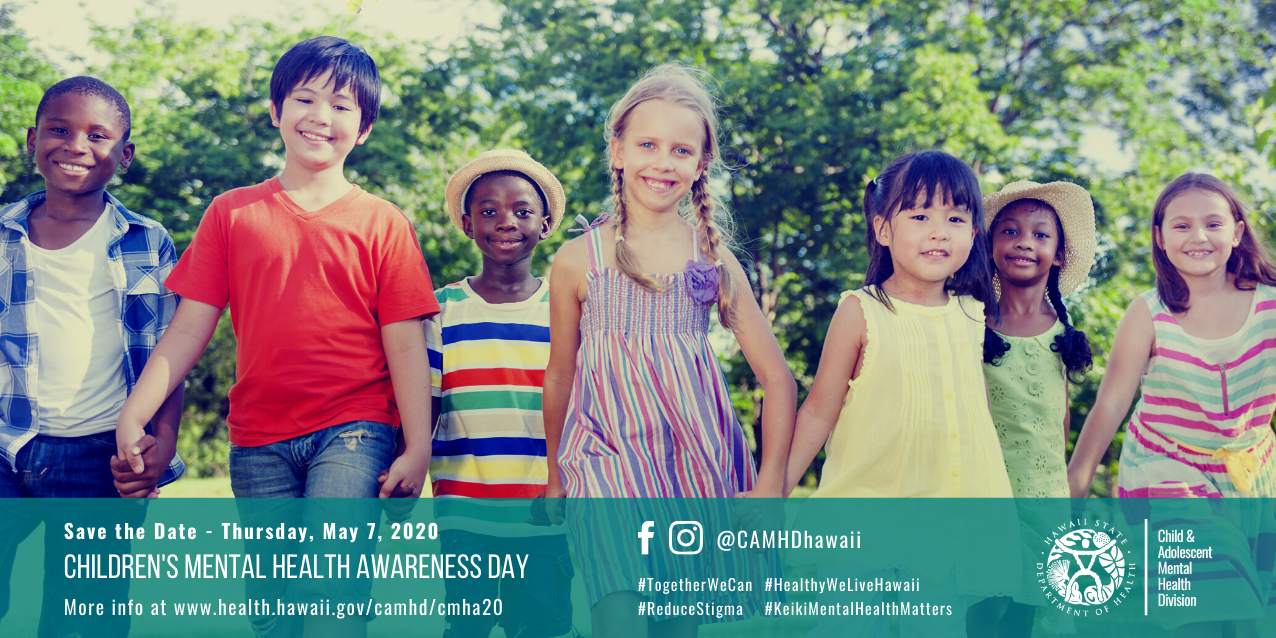 2020 Children's Mental Health Awareness Day (save the date)