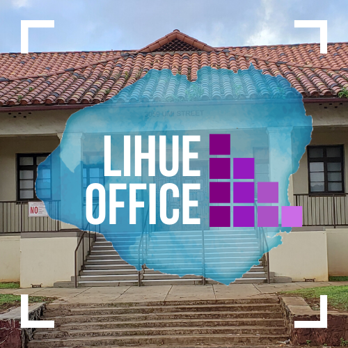 Text image of KFGC Lihue Office.