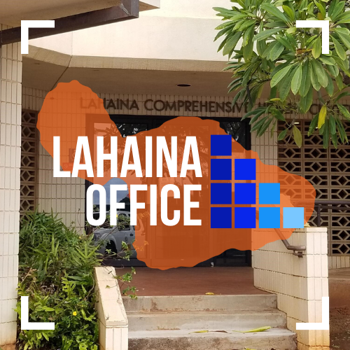 Text image of MFGC Lahaina Office.