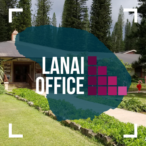 Text image of MFGC Lanai Office.