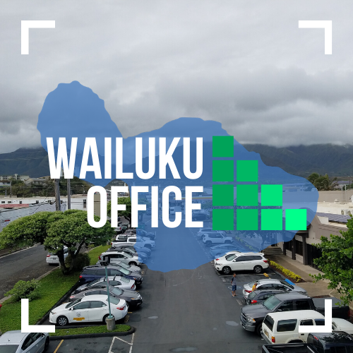 Text image of MFGC Wailuku Office.