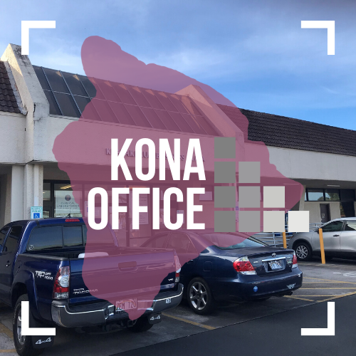 Text image of WHFGC Kona Office.