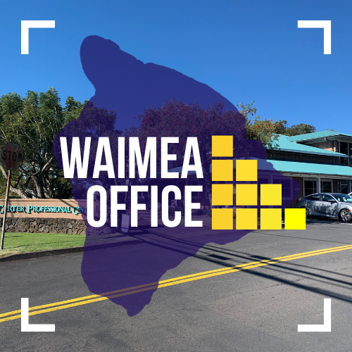 Text image of WHFGC Waimea Office.
