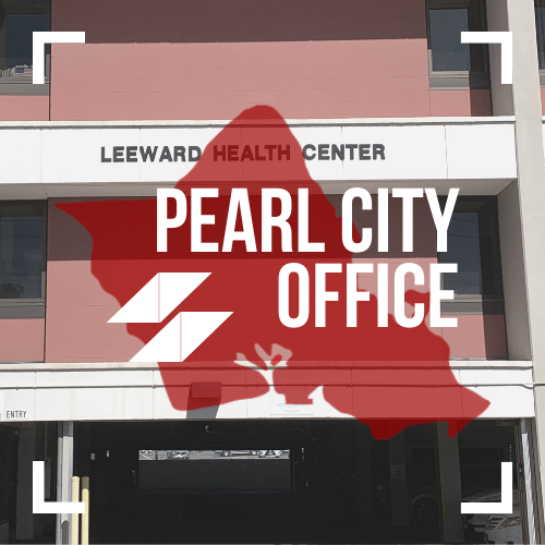 Text image of COFGC Pearl City Office.