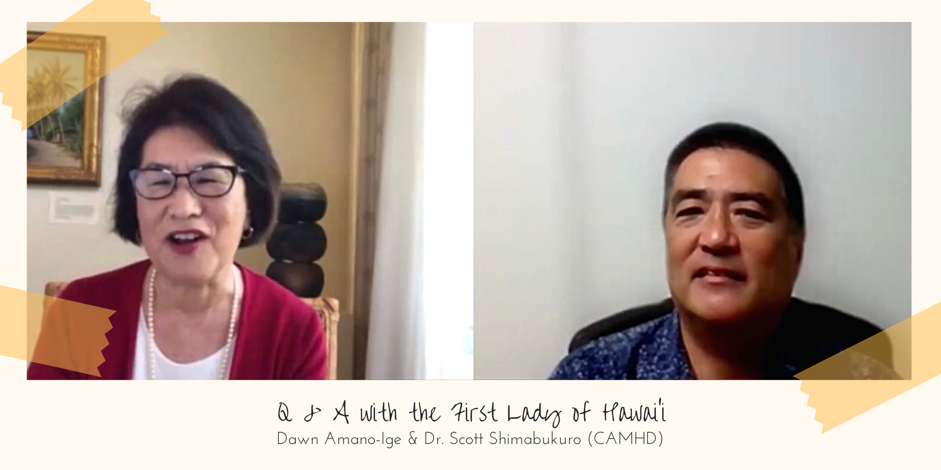 Image of the FLOHawaii and Dr. Scott Shimabukuro on Q&A Hawaii