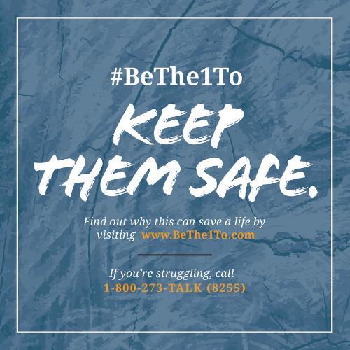 #SPM21 #BeThe1To Keep Them Safe