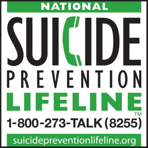 National Suicide Prevention Lifeline Org