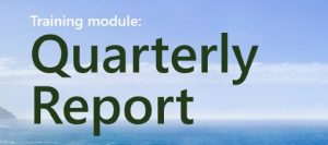 Training Module: Quarterly Report
