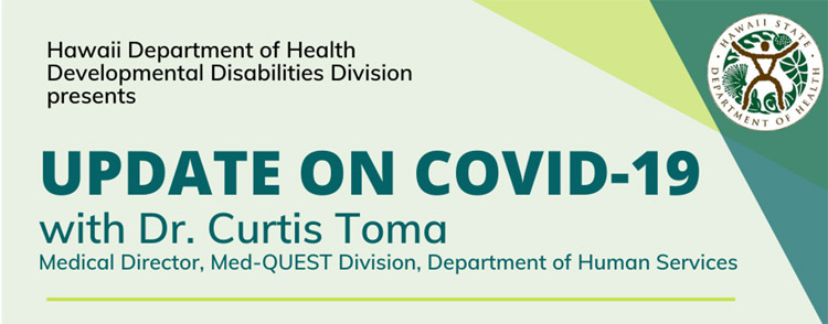 Hawaii Department of Health Presents Update on COVID-19