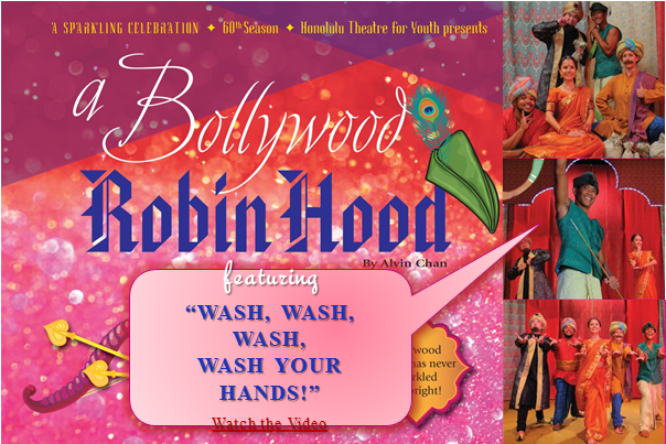 Wash Your Hands Bollywood Style!