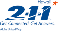 Aloha United Way 211 logo