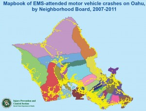 cover of Mapbook: EMS MVC Oahu 2007-2011