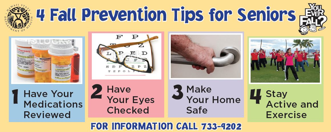 4 Fall Prevention Tips for Seniors