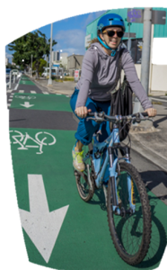 Kari Benes New King St. cycle track 2014