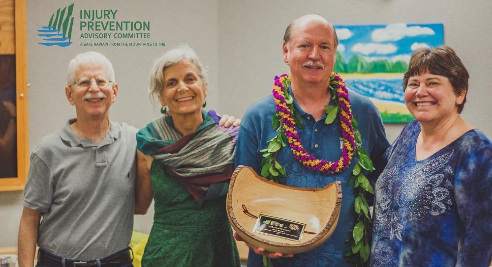 Safe Hawaii Award 2015- Bruce McEwan