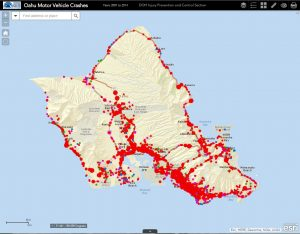 Hawaii Motor Vehicle Crashes 2007-2014