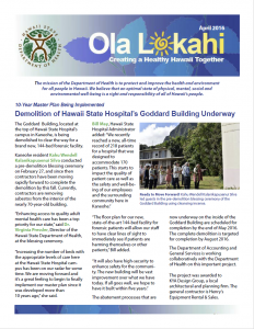 Ola Lokahi Newsletter – April 2016 post thumbnail