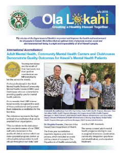 Ola Lokahi Newsletter – July 2016 post thumbnail
