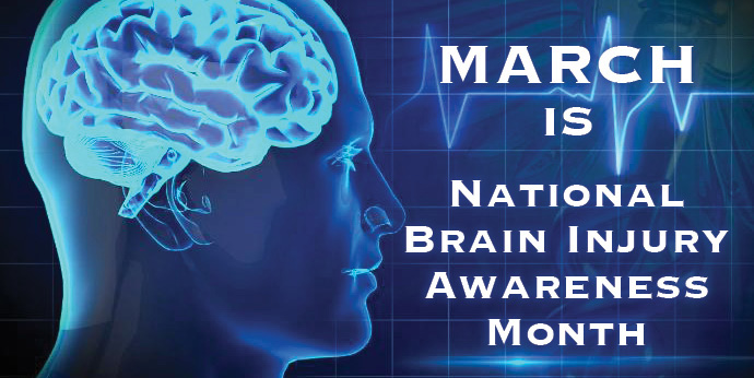 March is National Brain Injury Awareness Month