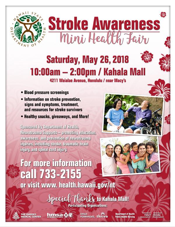 Stroke Awareness Mini Health Fair