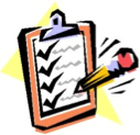 Clipboard checklist illustration