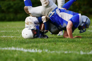 Football field injury