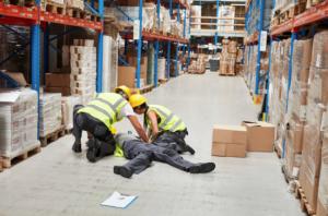 Warehouse injury