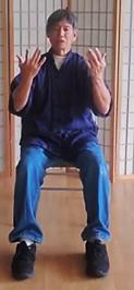 Photo: Tai chi sitting
