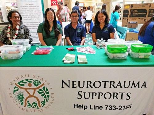 Photo: Neurotrauma Staff at Stroke Hewalth Fair