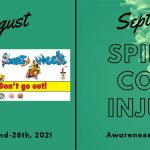Beach Safety Weeek and Spinal Cord Injury Awareness Month