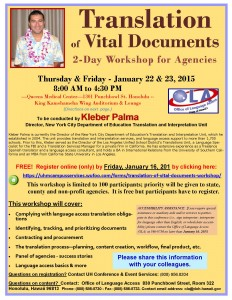 Workshp Kleber Palma Jan 2015 - Final Flyer
