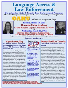 Oahu -Law Enforcement  Workshop Flyer and Agenda_Page_1