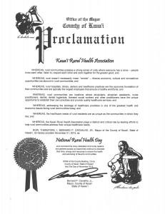 NRHA 2013 - Kauai Proclamation