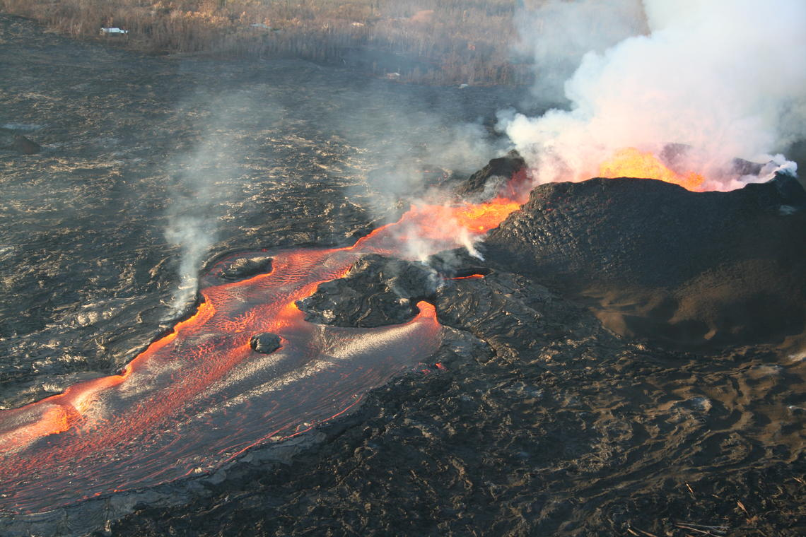 Big Island Volcanic Eruption