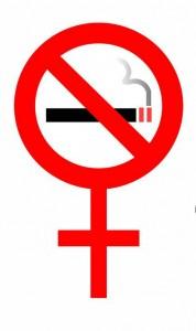 Female Not symbol