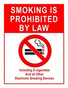 No smoking IS j
